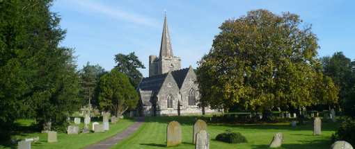 Elberton Church and its churchyard