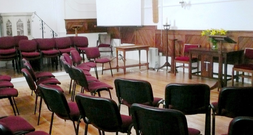 Interior - Olveston Methodist Church
