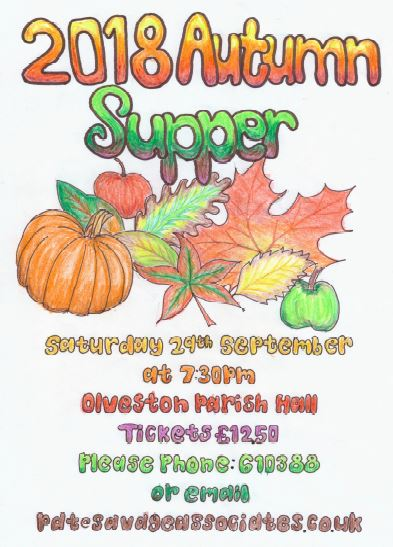 Village Harvest Supper poster